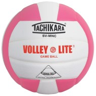 Tachikara® SV-MNC Volley Lite Volleyball, Pink/White