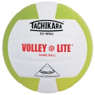 Tachikara® SV-MNC Volley Lite Volleyball, Lime Green/White