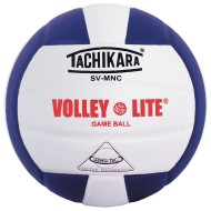 Tachikara® SV-MNC Volley Lite Volleyball, Purple/White