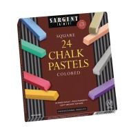 Premium Quality Art Chalk Pastels, Assorted
