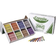 Crayola® Jumbo Crayon Classpack®, 8 colors (Box of 200)