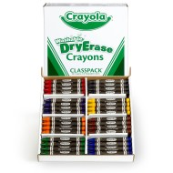 Crayola® Classpack® Washable Dry-Erase Crayons (Box of 96)