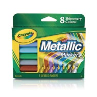Crayola® Metallic Specialty Markers (Pack of 8)