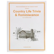Volume 3: Country Life Trivia & Reminiscence Book