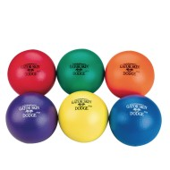 Gator Skin® Dodge Plus Middle School Dodgeballs (Set of 6)