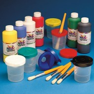 Color Splash!® Liquid Tempera Paint Easy Pack, 16 oz.