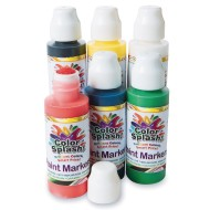Color Splash!® Tempera Paint Marker Set - Primary Colors (Pack of 6)