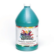 Color Splash!® Washable Tempera Paint - 128oz., Green