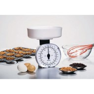 Mechanical Kitchen Scale with Weighing Bowl