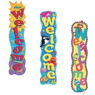 Welcome Banner Set (Set of 3)