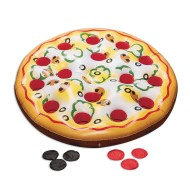 Jumbo Inflatable Pizza Toss Game, 4' Diameter