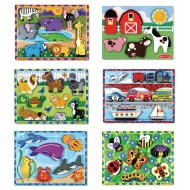 Melissa & Doug® Chunky Puzzles (Set of 6)