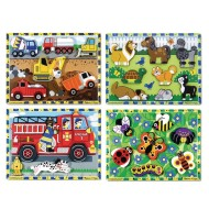 Melissa & Doug® Chunky Puzzles (Set of 4)