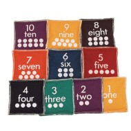 Number Beanbags (Set of 10)