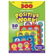 Scratch & Sniff Stickers Positive Words Value Pack