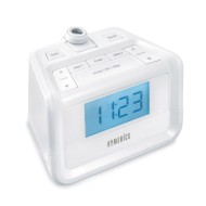 HoMedics® SoundSpa® Digital FM Clock Radio With Time Projection