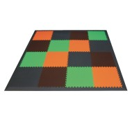 Earthtone Foam Floor Mats