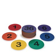 Spectrum™ Numbered Spot Markers, 5