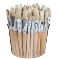 Flat Brushes (Tub of 144)