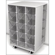Childbrite™ Mobl Lite Mobile Wall Storage Center