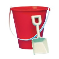 Plastic Pail and Shovel, 7