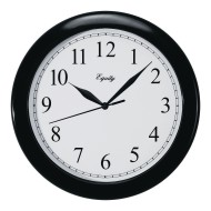 "Equity 10"" Analog Wall Clock"