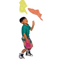 Nylon Juggling Scarves (Pack of 108)