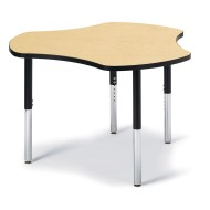 Jonti-Craft® Berries® Adjustable Height Hub Collaborative Table,