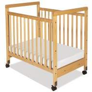 SafetyCraft® Compact Fixed Size Crib,