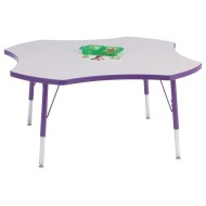 Rainbow Accents® 4-Leaf Activity Table, 48