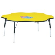 Jonti-Craft® Six-Leaf Activity Table, 60