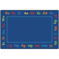 Alphabet Kids Value Rug 6'x9'