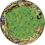 Flagship Carpets® PhotoFun™ Forest Floor Round Carpet