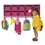 Jonti-Craft® Rainbow Accents® Coat Locker with Cubbies