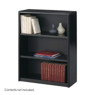 3-Shelf Value Mate Metal Bookcase