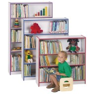Jonti-Craft® Rainbow Accents® Bookcase, 36