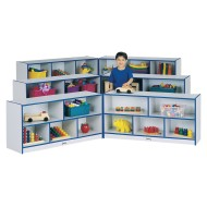 Jonti-Craft® Rainbow Accents® Super-Size Fold-n-Lock Storage