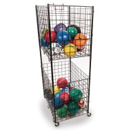 2-Tier Steel Ball Cart