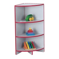 Rainbow Accents® KYDZCurves® Corner Shelf, 35-1/2