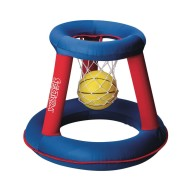 Inflatable Basketball Hoop and Ball