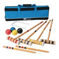 Recreational 4-Player Croquet Set