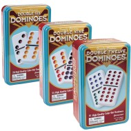 Dominoes in Tin