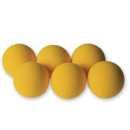 Foam Table Tennis Balls (Set of 6)