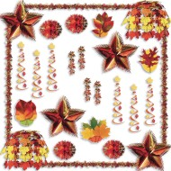 Flame Resistant Fall Decorating Kit (Kit of 1)