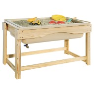 Wood Designs® Outdoor Sand and Water Table with Tub