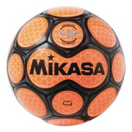 Mikasa® Aura Soccer Ball, Size 4 Black/Neon Orange