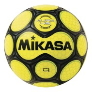 Mikasa® Aura Soccer Ball, Size 4 Black/Neon Yellow