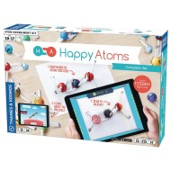 Happy Atoms Magnetic Molecular Modeling Set and iOS App Complete Set