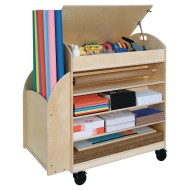 Wood Design® Maker Space Storage Cart