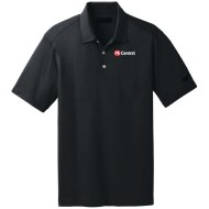 PE Central Men's Golf Shirt, Black